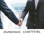 business concept  businessman... | Shutterstock . vector #1140775781