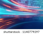 science formula and math... | Shutterstock . vector #1140779297