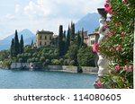 View To The Lake Como From...