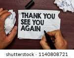 conceptual hand writing showing ... | Shutterstock . vector #1140808721