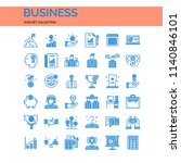 business ui pixel perfect well... | Shutterstock .eps vector #1140846101