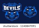 Blue Devils Sport Logo