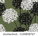 seamless pattern with onion... | Shutterstock .eps vector #1140858767