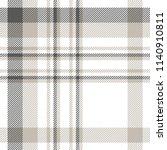 plaid patten in dark gray ... | Shutterstock .eps vector #1140910811