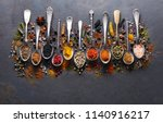 spices on black board | Shutterstock . vector #1140916217