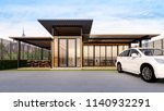 front view of restaurant   bar... | Shutterstock . vector #1140932291