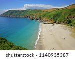 aerial view of lantic bay and...   Shutterstock . vector #1140935387