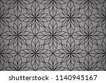 flower geometric pattern.... | Shutterstock .eps vector #1140945167