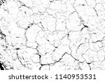 top view cracked soil ground... | Shutterstock . vector #1140953531