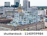 rotterdam  the netherlands ... | Shutterstock . vector #1140959984