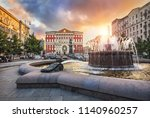 Former View Of Tverskaya Square ...