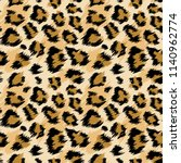 fashionable leopard seamless... | Shutterstock .eps vector #1140962774