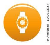 wristwatch businessman icon....   Shutterstock . vector #1140963164