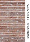 wall facade bricks new exterior ... | Shutterstock . vector #1140970697