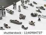 high precision hot forging... | Shutterstock . vector #1140984737