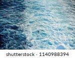 sailing away  aegean sea greece | Shutterstock . vector #1140988394