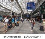 edinburgh  uk   circa june 2018 ... | Shutterstock . vector #1140996044