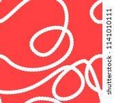 rope seamless pattern string...   Shutterstock .eps vector #1141010111