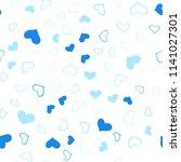 light blue vector seamless... | Shutterstock .eps vector #1141027301
