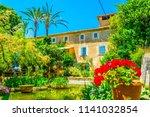 garden at son marroig  former... | Shutterstock . vector #1141032854