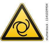safety sign. caution   danger ...   Shutterstock .eps vector #1141039904