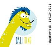 dinosaur   salvador dali....   Shutterstock .eps vector #1141040321