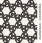 vector seamless pattern. modern ... | Shutterstock .eps vector #1141043561