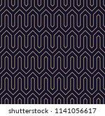 vector ornamental seamless... | Shutterstock .eps vector #1141056617