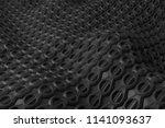 3d render plastic background... | Shutterstock . vector #1141093637