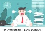 illustration vector flat... | Shutterstock .eps vector #1141108007