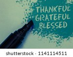 conceptual hand writing showing ... | Shutterstock . vector #1141114511