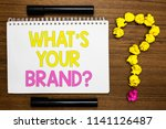 conceptual hand writing showing ... | Shutterstock . vector #1141126487