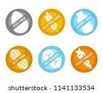 set of icons illustrating...   Shutterstock .eps vector #1141133534