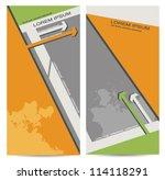corporate business brochure... | Shutterstock .eps vector #114118291