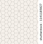 vector seamless pattern. modern ... | Shutterstock .eps vector #1141185827