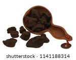 dried he shou wu or polygonum... | Shutterstock . vector #1141188314