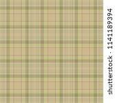 tartan traditional checkered... | Shutterstock .eps vector #1141189394