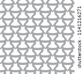 seamless geometric ornamental... | Shutterstock .eps vector #1141216271