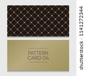 pattern card 04. background... | Shutterstock .eps vector #1141272344