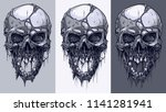 detailed graphic realistic cool ... | Shutterstock .eps vector #1141281941