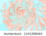 pink and blue abstract... | Shutterstock . vector #1141308464