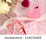 wedding invitations on...   Shutterstock . vector #114131605