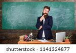 teacher interesting... | Shutterstock . vector #1141324877