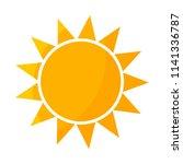sun icon illustration | Shutterstock .eps vector #1141336787