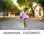 Little Children Playing...
