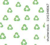 recycling seamless pattern...