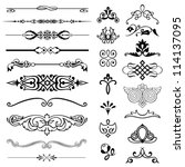 design elements   set 2  | Shutterstock .eps vector #114137095