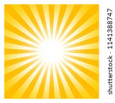 sun or sunshine symbol with... | Shutterstock .eps vector #1141388747