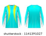 design for sublimation print.... | Shutterstock .eps vector #1141391027