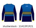design for sublimation print.... | Shutterstock .eps vector #1141391921